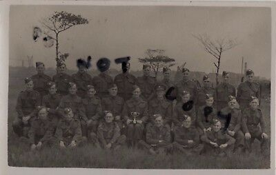 WW2 Officer soldier group Manchester Regiment Home Guard ?