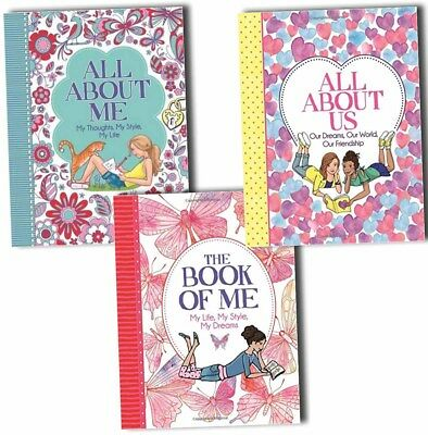 All About Me,The Book of Me and All About Us 3 Books Colletcion By Ellen Bailey
