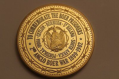 Limited Edition Anglo Boer War Prisoner Of War Camps Commemorative Coin