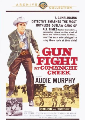 GUNFIGHT AT COMANCHE CREEK ...-Gunfight at Comanche Creek (1963)  DVD NEW