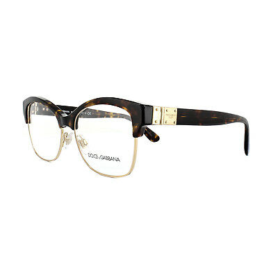 cbb486d9f02 Dolce and Gabbana Glasses Frames DG 3272 502 Havana Womens 54mm