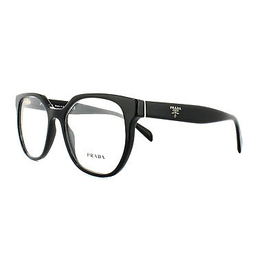 cc926bc7e8df PRADA GLASSES FRAMES PR 02UV 1AB1O1 Black Womens 52mm - £111.00 ...
