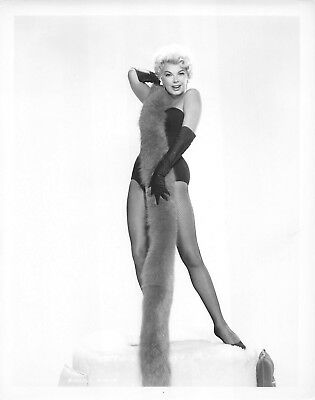 BARBARA NICHOLS vintage sexy leggy 1950s cheesecake pinup photo
