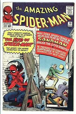 Amazing Spider-Man #18 Vol 1 Super High Grade 1st Appearance of Ned Leeds