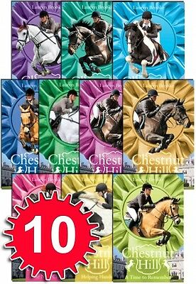 Chestnut Hill Collection Lauren Brooke 10 Books Set (By Author of Heartland) NEW