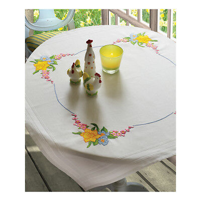 ANCHOR | Embroidery Kit: Daffodil - Tablecloth | 92400003131