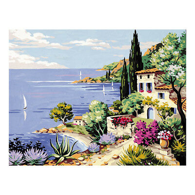 Royal Paris Tapestry Printed Canvas Mediterranean Coast | 98801420113