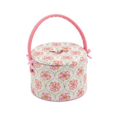 S&W Collection HGRC279 | Sewing Tub | Blossoming Trellis | 18 x 18 x 12cm