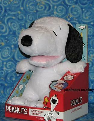"""New Peanuts Laughing Snoopy Plush 11"""" Toy Next Day USA Shipping USA SELLER"""