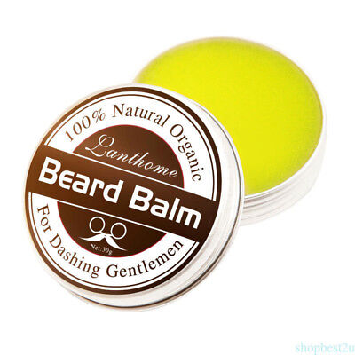100% Natural Beard Oil Balm Moustache Wax For Styling Organic Moisturizing CU47