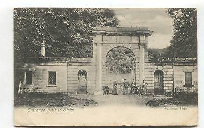 Hawick, Roxburghshire - Entrance to Stobs - 1904 used postcard