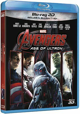 Avengers: Age of Ultron 3D Blu-Ray - totalmente in italiano