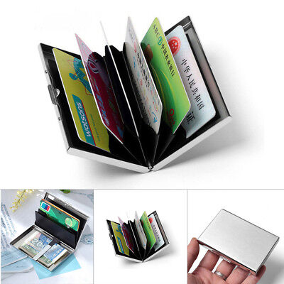 RFID Blocking Metal Wallet The Minimalist Wallets Credit-Card Holders Money Clip