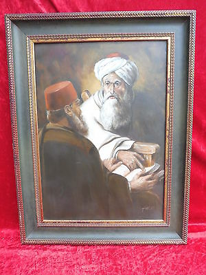 Pretty, Old Gemaelde __ MAN WITH TURBAN__Prophet Signed__