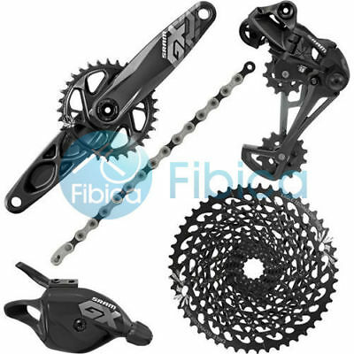 2018 SRAM GX Eagle 12-speed Mountain Groupset Group Trigger 32t/34t 170/175 GXP