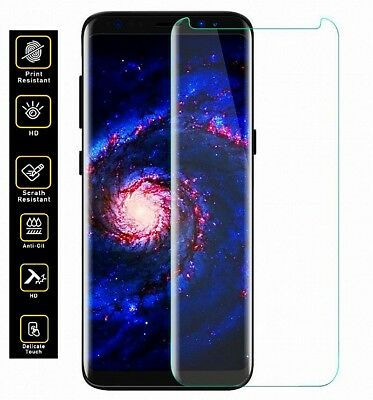 For Samsung Galaxy S8&S7 edge 3D Case Friendly Tempered Glass Screen Protector @