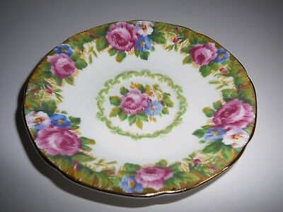 Vintage Paragon China Tapestry Rose Saucer England Stunning