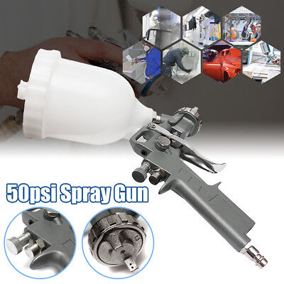 Air Gravity Feed Spray Gun 2.2mm Nozzle Car Paint Touch Up 600ml Pot Repair Tool