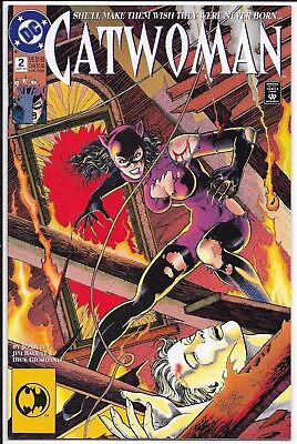 DC Comics - Catwoman - Vol 1 #2 - Sept 1993