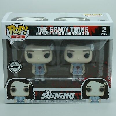 Funko Pop Movies The Shining 2 Pack The Grady Twins Exclusive Chase DISPONIBILE
