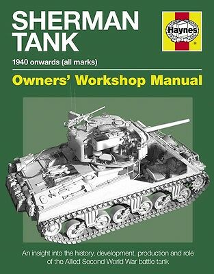 Sherman Tank Manual Haynes Manual H5101 NEW