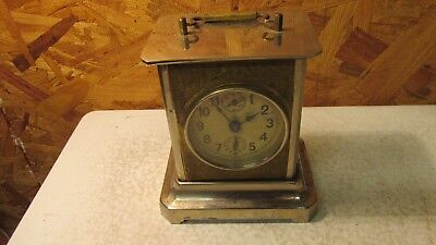 Antique Germany Junghans Carriage Clock Musical