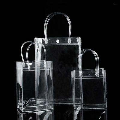 Hot Clear Handbag Transparent Purse Bag Pretty present gift bag Shopping Bag