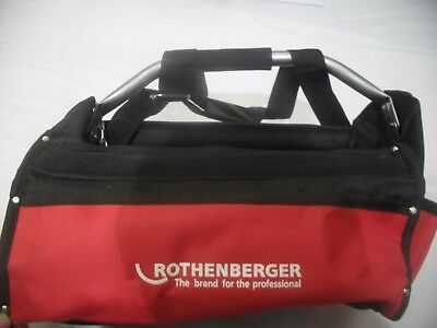 Rothenberger Nylon Weave Tote Tool Bag Red And Black 8.8834