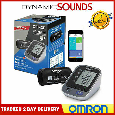 Omron M7 Intelli IT Upper Arm Blood Pressure Monitor with Wrap Cuff (22-42 cm)