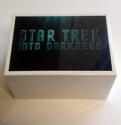 Star Trek Movies 2014 Into Darkness Complete 110 Card Base Set Rittenhouse Cards