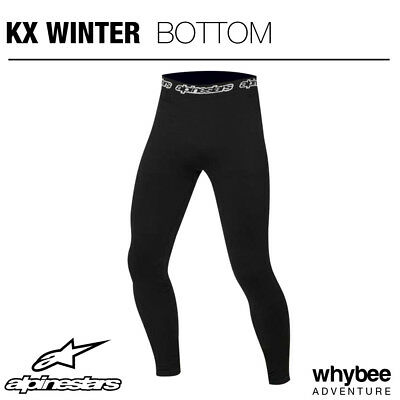4756112 Alpinestars KX WINTER BLACK LONG PANTS UNDERWEAR for KART KARTING