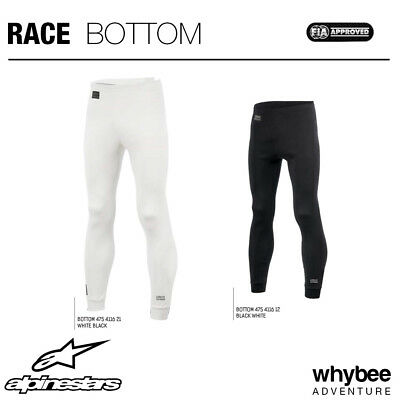 SALE! 4754116 Alpinestars RACE PANTS FIREPROOF UNDERWEAR LONG JOHNS FIA SFI