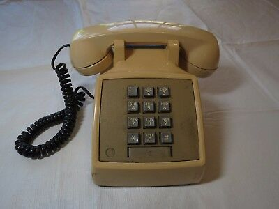 Western Bell system property Not for SALE RARE phone 2500MM harvest yellow phone