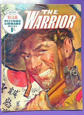 War Picture Library No.173: The Warrior. Fleetway Library 3rd December 1962