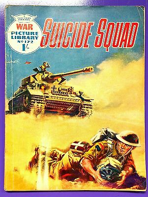 War Picture Library No.172: Suicide Squad. Fleetway Library, 2nd December 1962