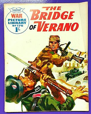 War Picture Library No.176: The Bridge of Verano. Fleetway, 7th January 1963.