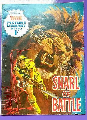 War Picture Library No.162: Snarl of Battle. Fleetway Library 3rd September 1962
