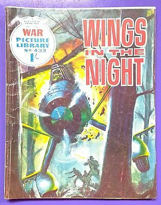 War Picture Library No.433: Wings in the Night. Fleetway Library, 4th March 1968