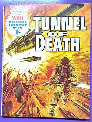 War Picture Library No.422: Tunnel of Death. Fleetway Library, 5th February 1968