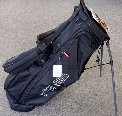 Ping 4 Series Golf Stand Carry Bag Black White W Matching
