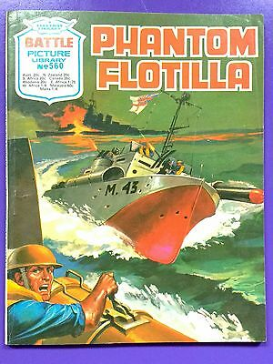 Battle Picture Library No.560: 'Phantom Flotilla'. Fleetway Library ©1971.
