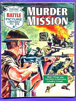 Battle Picture Library No.375: Murder Mission. Fleetway Library ©1968.