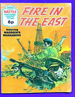 Battle Picture Library No.561: 'Fire in the East'. Fleetway Library ©1971.
