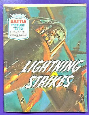 Battle Picture Library No.556: 'Lightning Strikes'. Fleetway Library ©1971.
