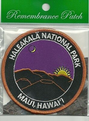 Haleakala National Park Souvenir Patch  Maui Hawaii