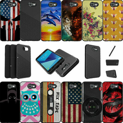 For Samsung Galaxy J7 V | J7 (2017) | Perx | Sky Pro Shockproof Dual Layer Case