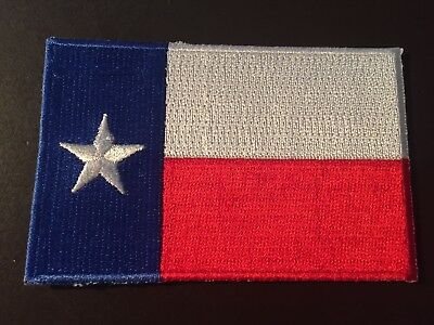 State of Texas flag historical collectors patch - vintage colors