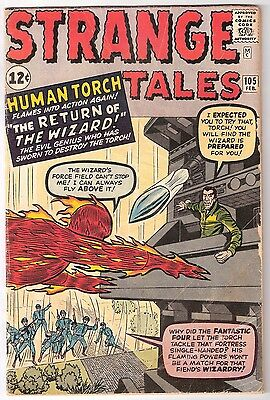 Strange Tales #105, Marvel 1963, Vg- Condition