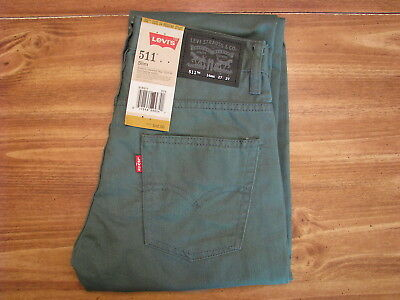 Levi's 511 Youth/Child Size 14 Regular (27x27) New Kids Jeans/Pants/Clothing