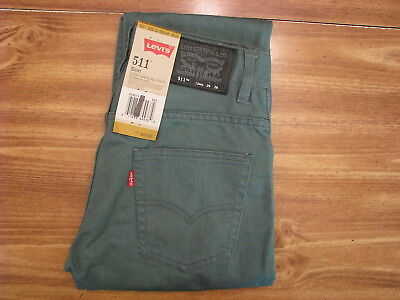 Levi's 511 Youth/Child Size 12 Regular (26x26) New Kids Jeans/Pants/Clothing